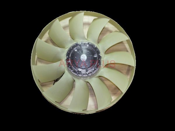 تصویر موتور فن و پروانه رادیاتور