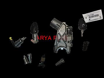 تصویر مغزی سوئیچ استارت همراه با کلید